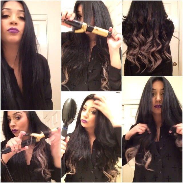 How I Wave My Hair Im Wearing My Luxuryforprincess Hair Extensions