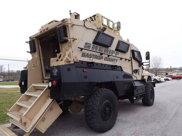 Sheriff MRAP Armored Vehicle