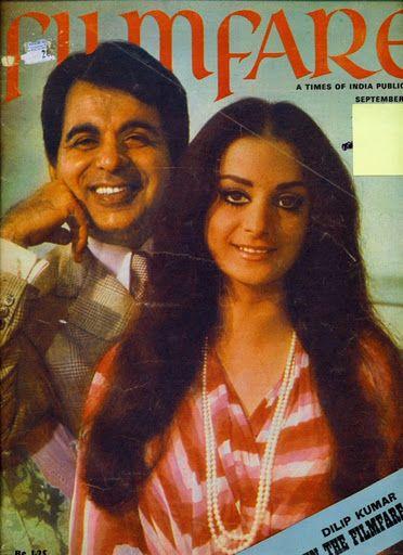 1974 Dilip Kumar and Saira Banu