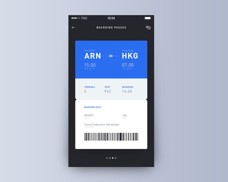 Day009 boarding pass