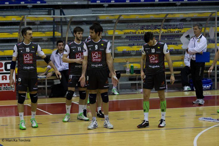 B1M Monterotondo - Ferrara   Marco Marzola (F), Cosimo Gallotta (F), Max Di Franco (F), Enrico Agosti (F)  (Foto di Marika Torcivia)