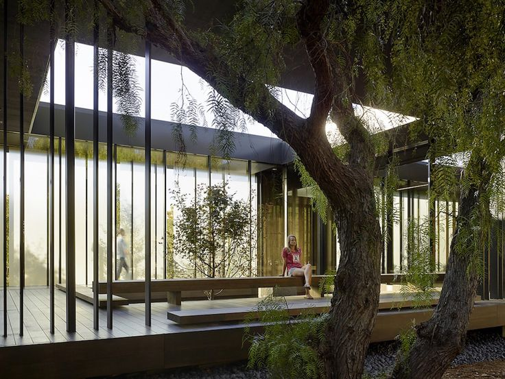 Studio Aidlin Darling Design created a meditation center located on the campus of Stanford University in California