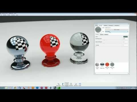 Keyshot Lezione 5 - Materiali - YouTube