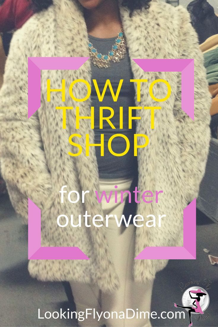 How to Thrift Shop for Outerwear + Salvation Army Coat Sale