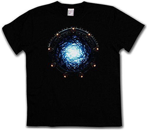 STARGATE+PORTAL+T-SHIRT+–+Movie+SG-1+Atlantis+TV+Series+Infinity+Stargate+T-Shirt+Sizes+S+–+5XL