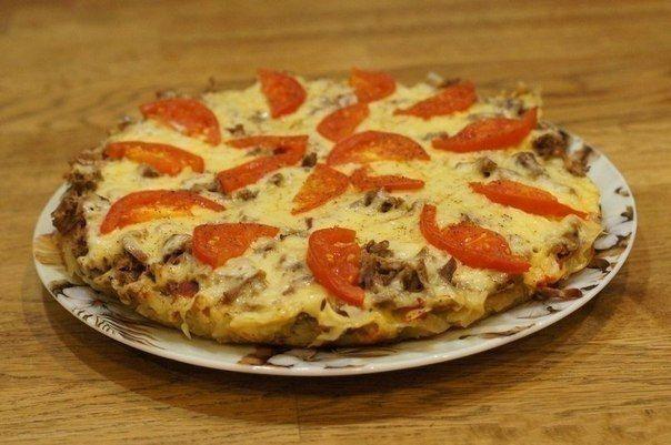Картофельная пицца на сковороде / Западло