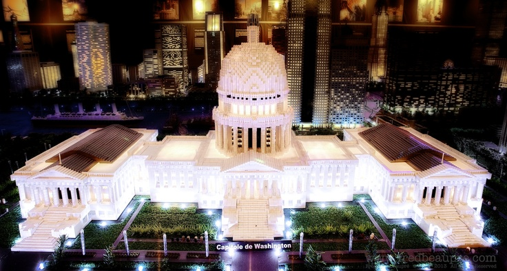The Capitol from up above / Le Capitole vu des airs