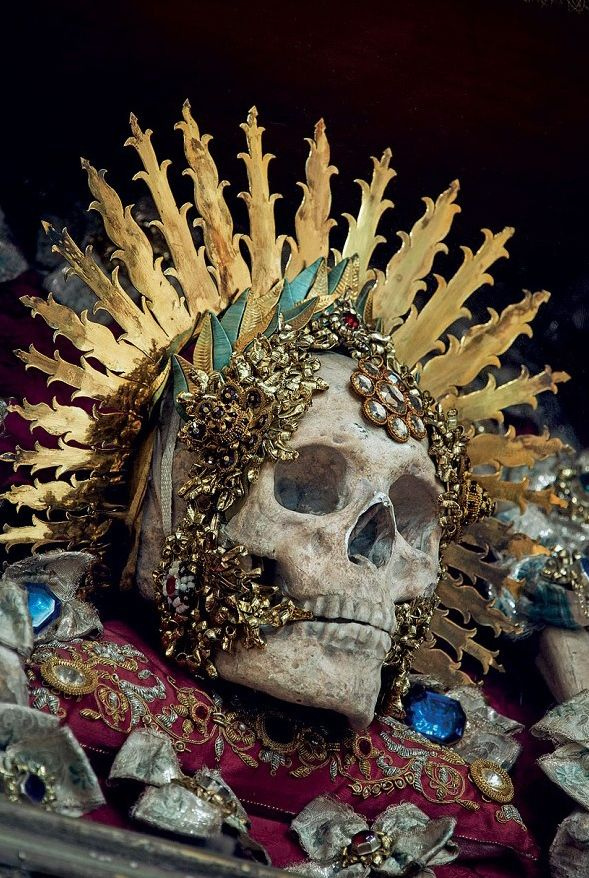 Death: When death appears in dreams it does not necessarily mean physical death. In symbolic language death is associated with transformation. St Benedictus arrived in Muri, Switzerland, in 1681 Photo: Paul Koudounaris