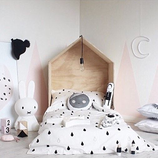 A super sweet room for a kid