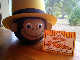 Paper Perfection: Curious George Pumpkin