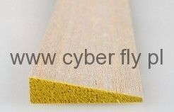 Balsowa krawędź spływu 6 x 25 mm CYBER-FLY.PL sklep modelarski