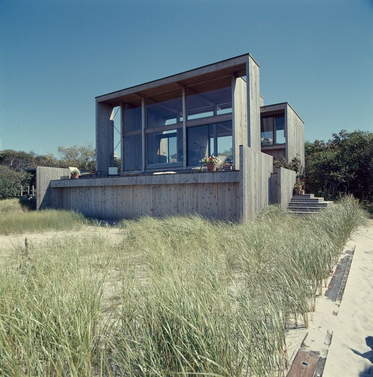 "Thanks to inventive architects like Horace Gifford, New York's Fire Island Pines has become an architectural destination: Not exactly your average beach shares, there are dozens of midcentury modern homes with design flourishes like a floating staircase or even plush ""makeout lofts."" The architect Christopher Rawlins is now cataloging them all at the website Pines Modern, complete with virtual tours. Take a peek inside, here."