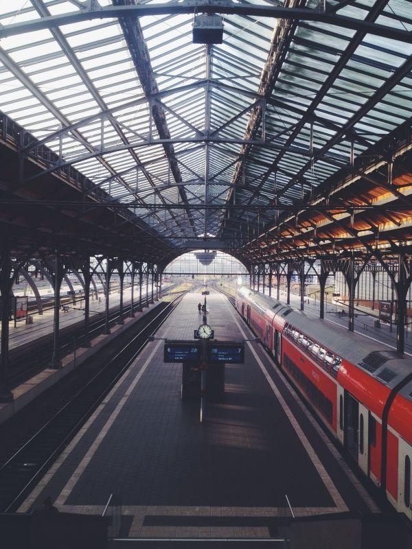 lübeck hauptbahnhof, lübeck, germany #trains