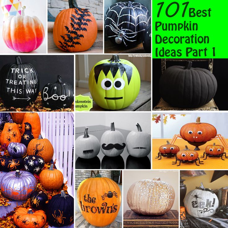 101 best pumpkin decoration ideas part 1 - Pumpkins Decorations