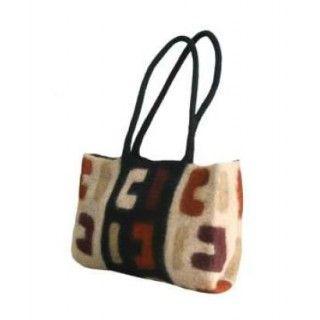 Hand-made felt bag