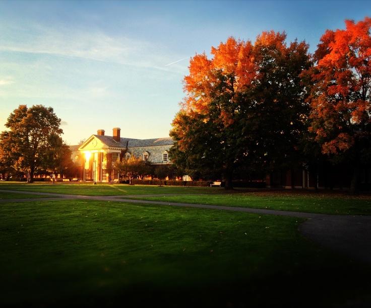 (2000-2004) My beautiful alma mater: Fall at Bucknell