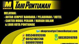 Layanan Jasa Taxi Bandara Pontianak & Carter Mobil Pontianak yang melayani transportasi antar jemput dalam serta luar kota di Kalimantan Barat