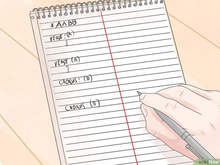 how to write lyrics about love