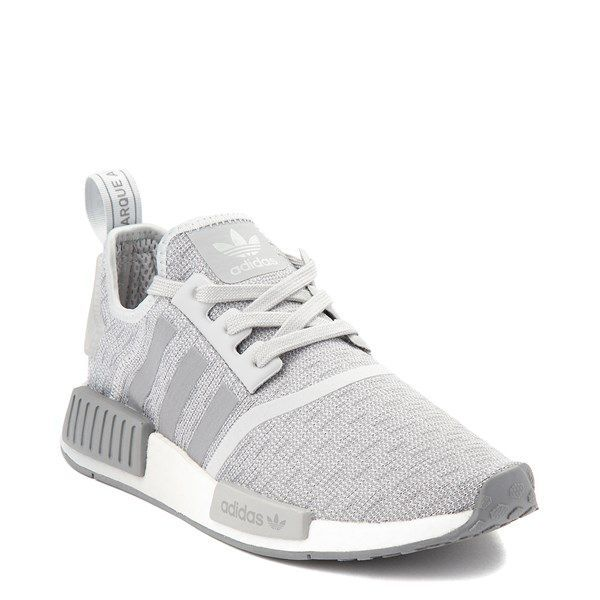 Adidas Womens Adidas Nmd R1 Athletic Shoe Gray In 2020 Adidas Shoes Women Grey Tennis Shoes Athletic Shoes Outfit