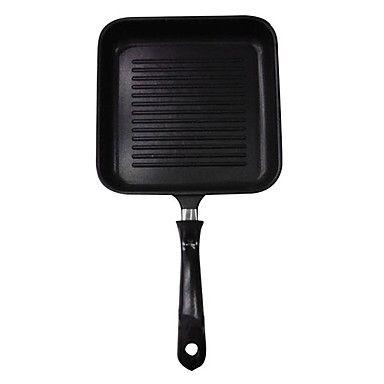 padnigr ® gietijzeren grill pan met handvat, W15cm xl24cm – EUR € 45.99
