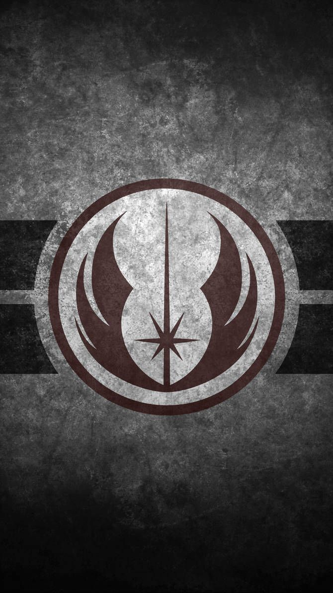 Jedi Order Symbol Cellphone Wallpaper By Swmand4 Star Wars Art Star Wars Wallpaper Star Wars Wallpaper Iphone