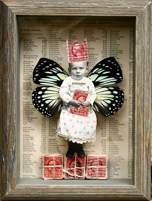 827 best Doll Collage~ Assemblage~ Altered images on ...