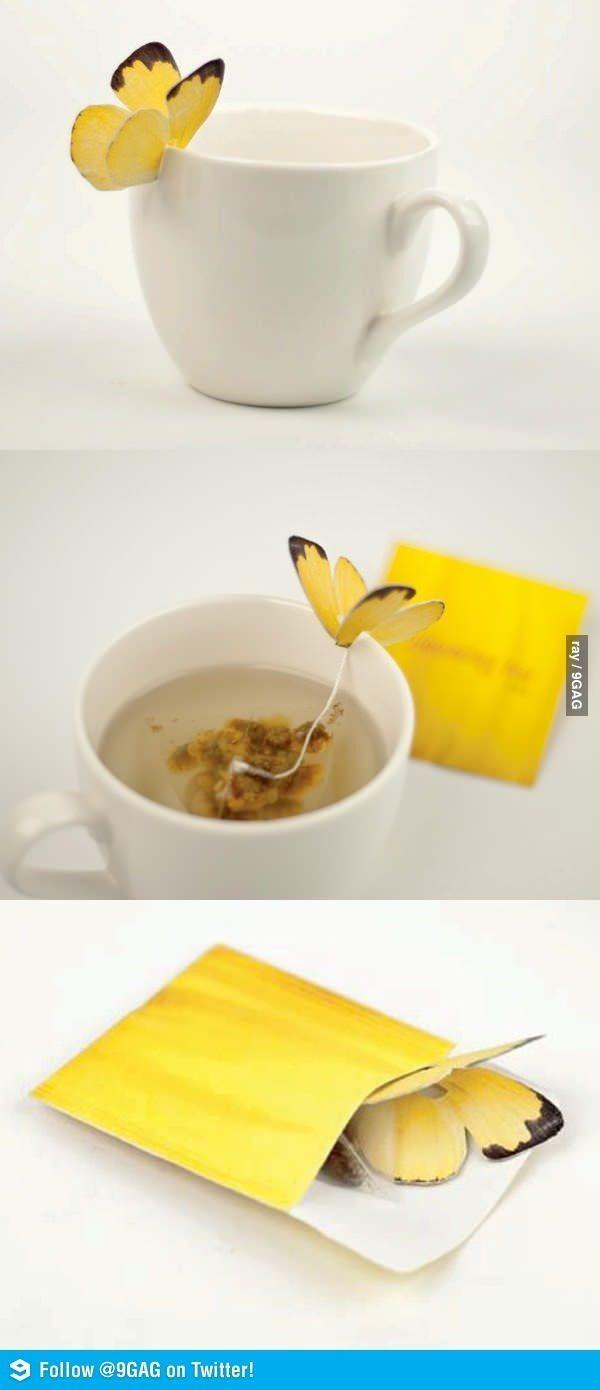 Butterfly Tea Bags • Craftberry Bush for tutorial.