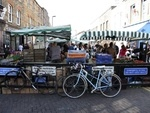 Hang out at Broadway Market  London has great markets. Broadway Market on a Saturday is great for people watching, food, barbecues in the park and outdoor drinking until late! A real taste of young east London.
