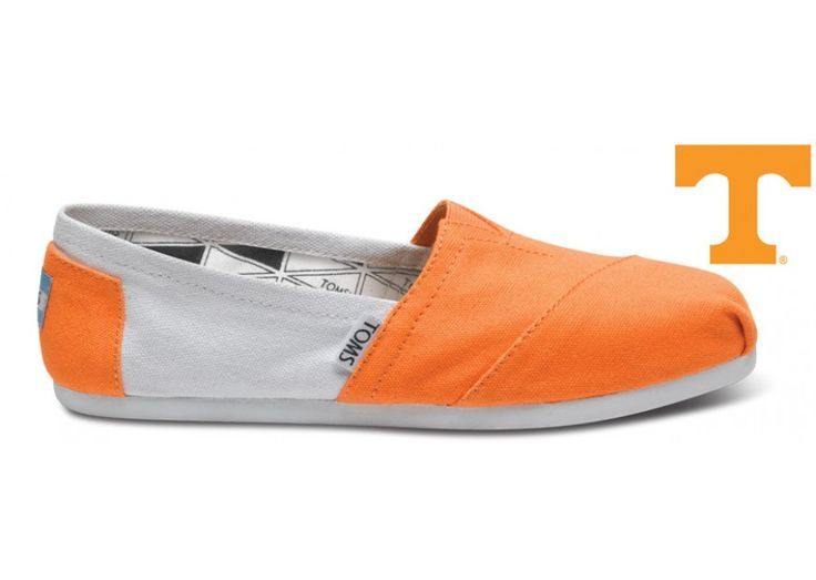 University of Tennessee Women's Campus Classics | TOMS.com Only 48.00