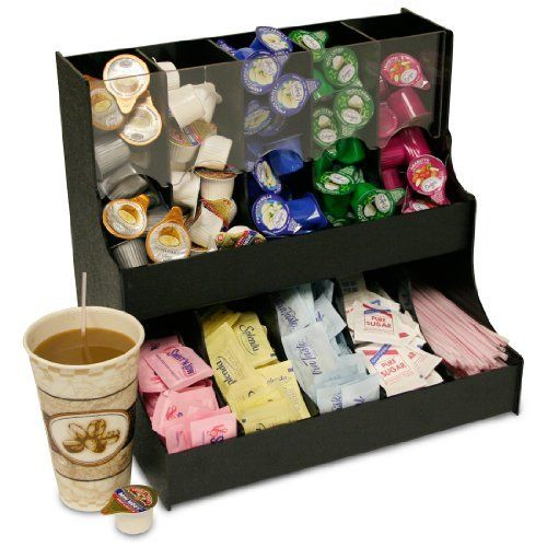 "Condiment Organizer with 5 Gravity Compartments & 5 Regular Compartments. Only 12 1/2"" Wide x 12"" High. Space Saving & Great for Office Break Rooms. Proudly Made in the USA ! & made by PPM. by PPM, http://www.amazon.com/dp/B007NZG8AG/ref=cm_sw_r_pi_dp_KUNTqb1E0RY58"