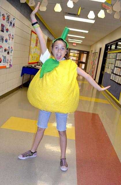 heidi schatze: 3rd grade lemon costume