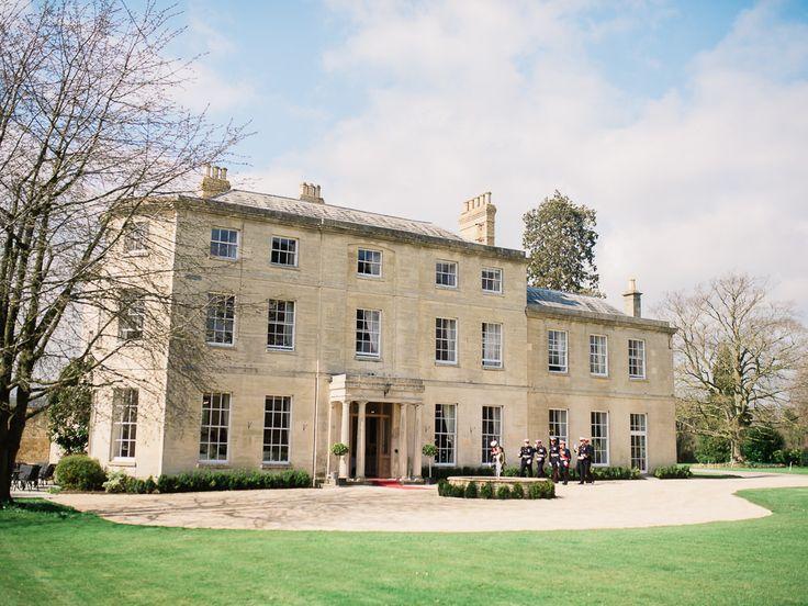 JClassic Wedding at Eastington Park Gloucestershire | Spring Wedding | Cherry Blossom Centrepieces | | John Barwood Photography | http://www.rockmywedding.co.uk/sarah-adam-3/