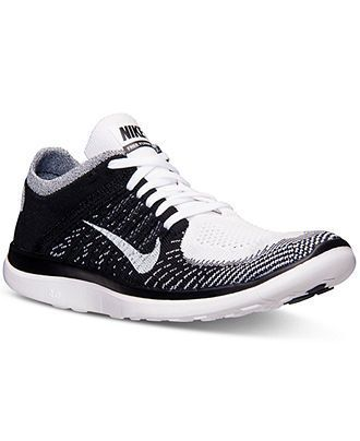d993613ca2f0fc Nike Men s Free Flyknit 4.0 Running Sneakers from Finish Line - Finish Line  Athletic Shoes - Men - Macy s