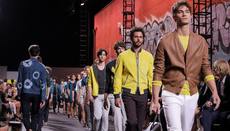 The iconic French fashion house debuted a range of refreshing new designs in the City of Angels…