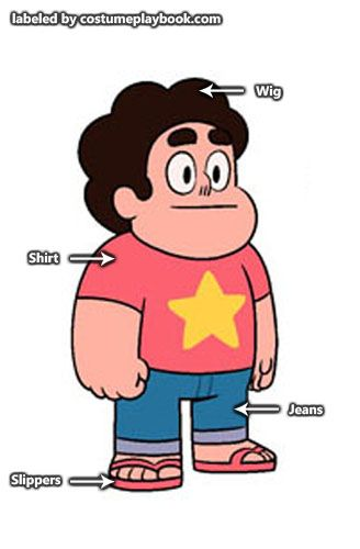 Dress up as Steven Universe and the rest of the Crystal Gems!