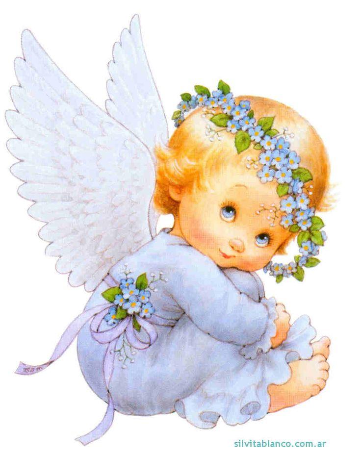 Angelitos dibujos ilustraciones infantiles angelitos - Ilustraciones infantiles antiguas ...