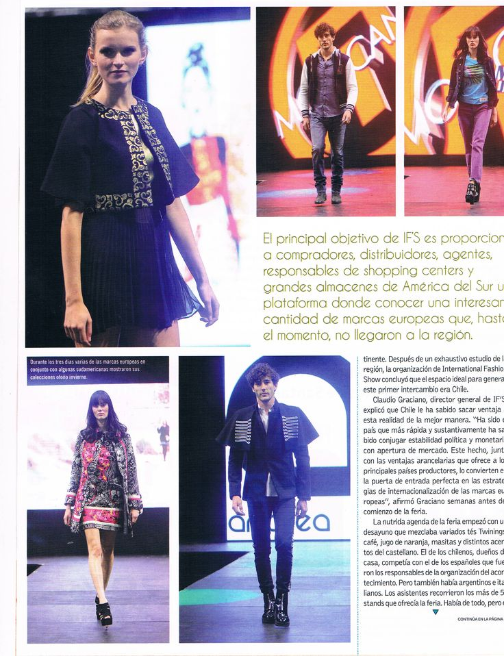 IFS en Revista Galería Uruguay. #moda #chile #moda #modachile #santiago #modasantiago #revistagaleria #uruguay #magazine #reportaje