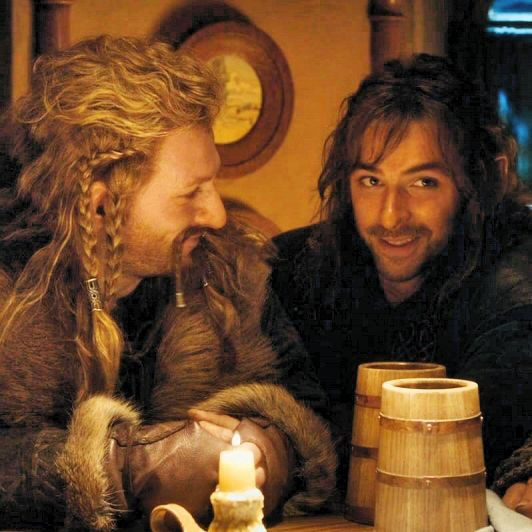 Fili and Kili.THEIR FACES,I CAN'T HANDLE EM'!!!!!!