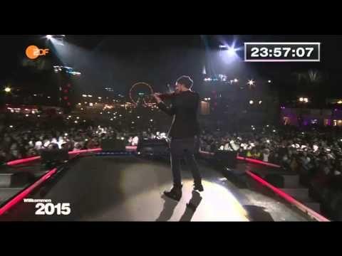 David Garrett - Baboushka Berlin Silvester Party 2014/2015 - YouTube