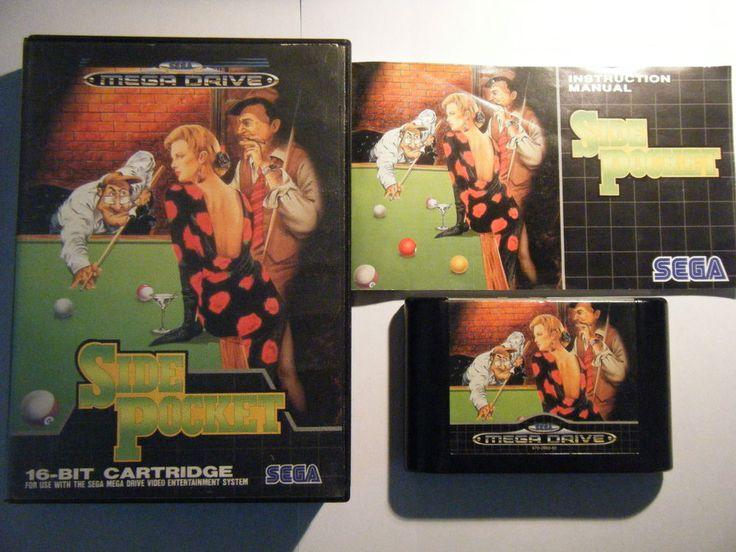 Side Pocket - Sega MegaDrive - Complet - Occasion