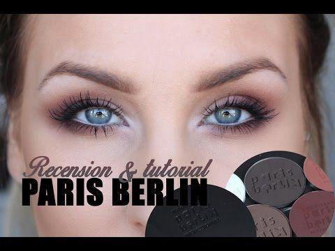 Toppbetyg igen! Helen Torsgårdens recension  av Paris Berlin ögonskuggor och paletter. Plus tutorial!