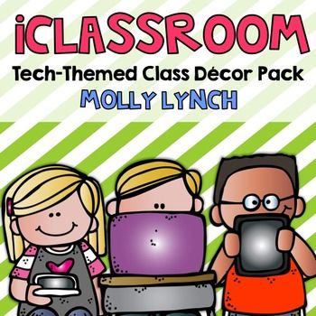 Technology Themed Classroom Decor Pack
