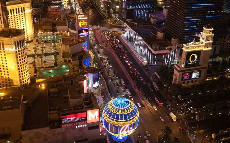 One of the best panoramic vistas of the Las Vegas strip is 460 feet above ground in the Eiffel Tower. Las Vegas isn't shy about glitz, and the fact that there is an Eiffel Tower shows that there's nothing this city can't or won't do.