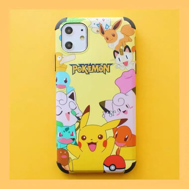 Pokemon Phone Case For Iphone7/7P/8/8plus/X/XS/XR/XSmax/11