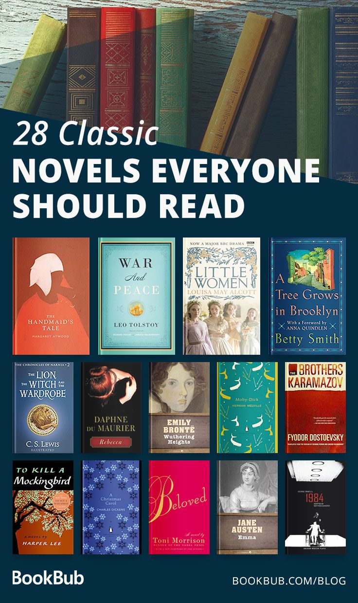 The Best Classic Novels Of All Time According To Readers Book Club Books Books Best Books To Read