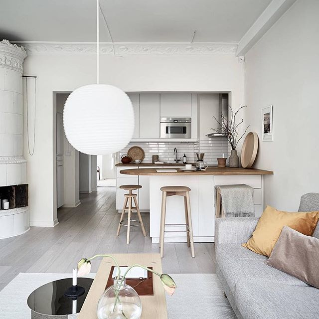 lovely ikea living room | The Lovely Home of Swedish Stylist Elin Odnegard | Ikea ...