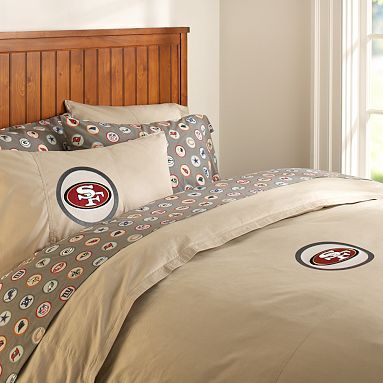 san francisco 49ers duvet cover pillowcase. Black Bedroom Furniture Sets. Home Design Ideas
