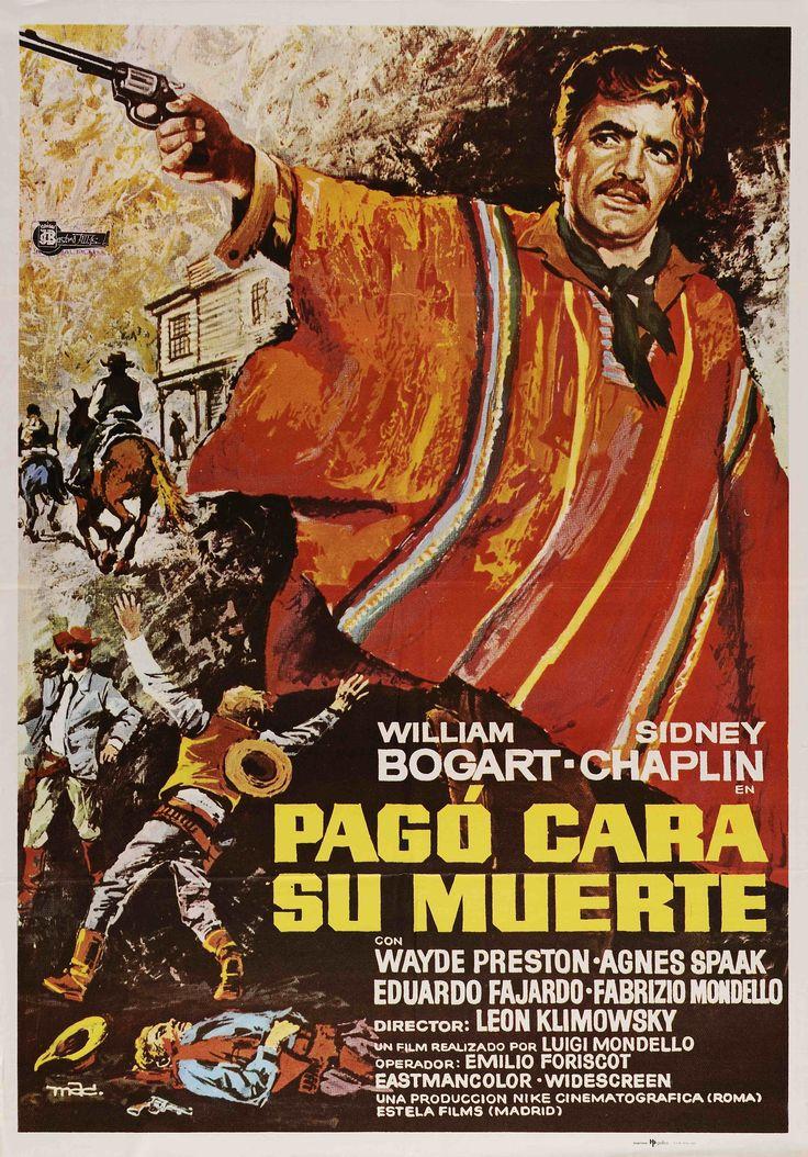 """""""Pagó cara su muerte"""", León Klimovsky, 1969. Con Guglielmo Spoletini, Wayde Preston, Agnès Spaak... http://estelafilms.com/pelicula.php?url=pago-cara-su-muerte"""