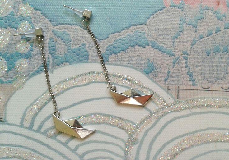 Paperboat Earrings