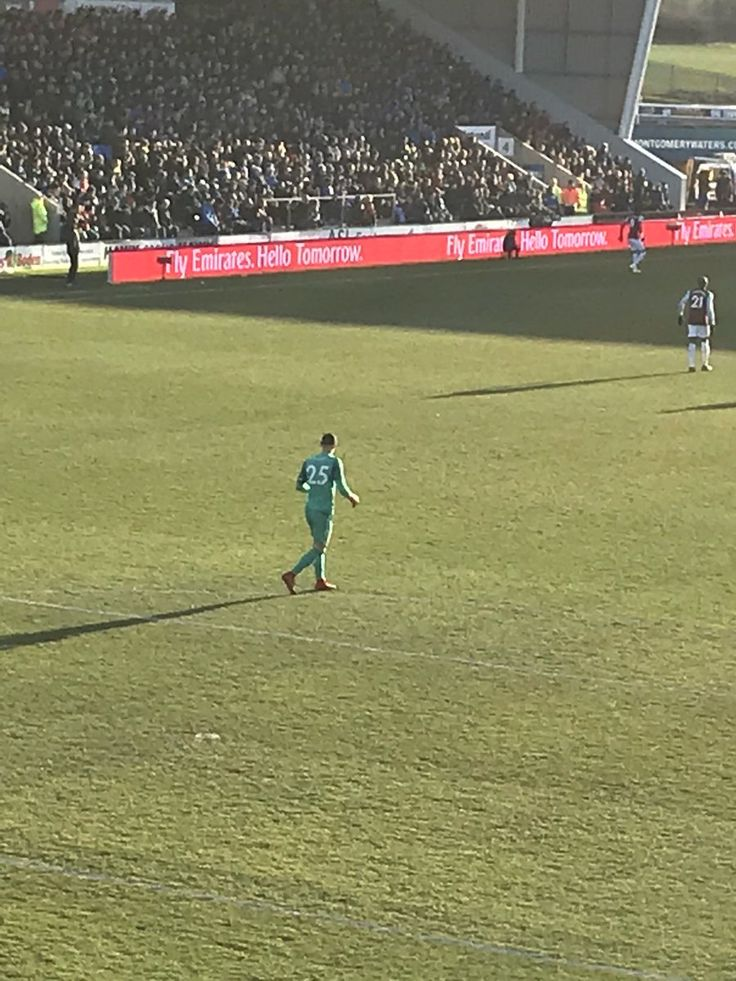Gotta' love that - Joe Hart asking the fans if anyone had a cap he can borrow because the sun is in his eyes!